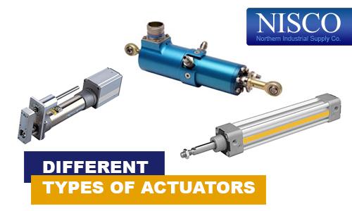 Different Types of Actuators | Actuators Ontario